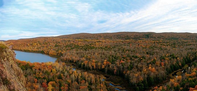 Porcupine Mountains Camping Review